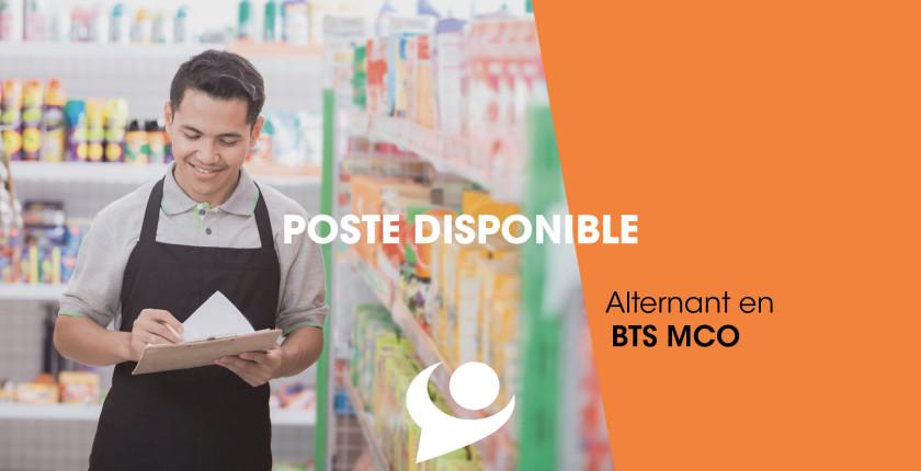 Offre d'emploi : Alternant(e) en BTS MCO - Management Commercial Opérationnel